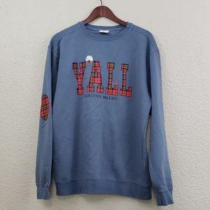 Jadelynn Brooke NWOT Y'all Sweatshirt size medium